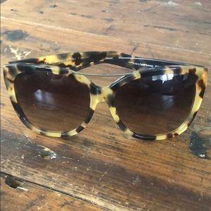 Tortoise Coach sunglasses